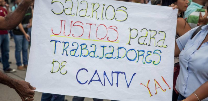 Situación de CANTV – Movilnet: ¡los trabajadores deben retomar la lucha!