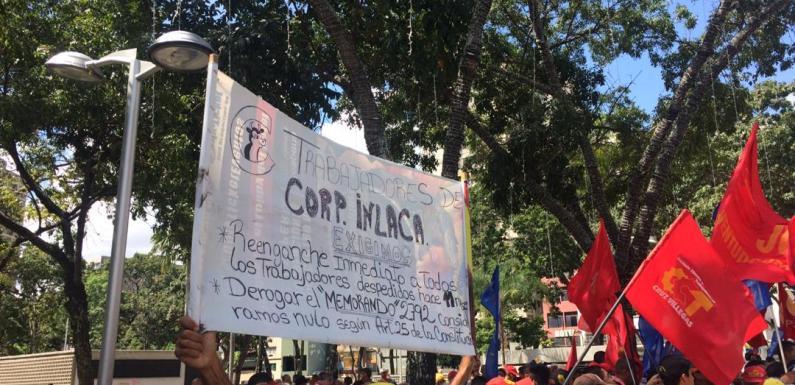 Nueva plataforma obrera, campesina y popular protestó en la sede de la Fiscalía General de la República