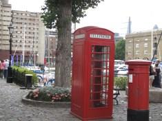 near Tower Bridge, and St. Katherine's Docks, London