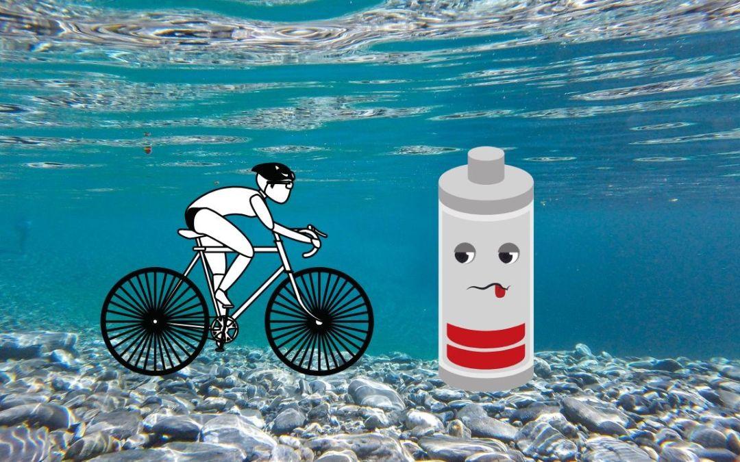 El ciclista estancado, ¿por qué?