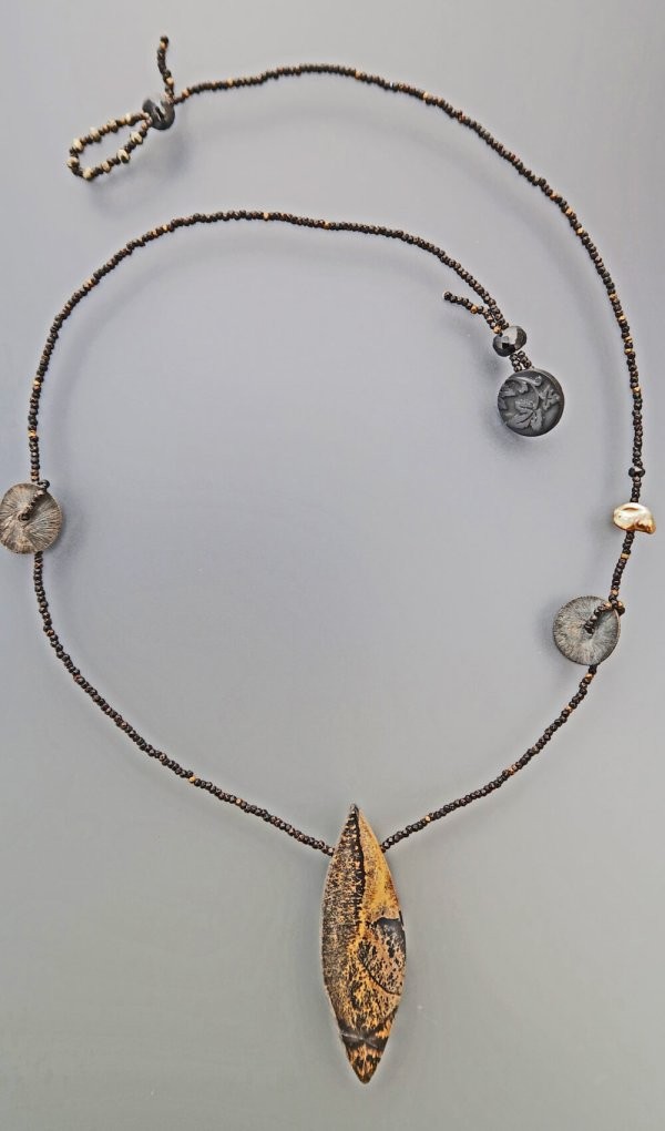 Lucia Antonelli Jewelry Jasper Pendant
