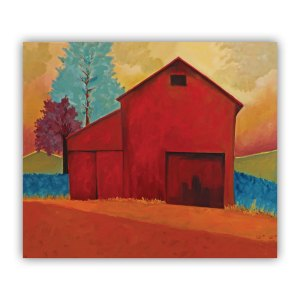 Red Barn on Eighth Street Lucia Antonelli