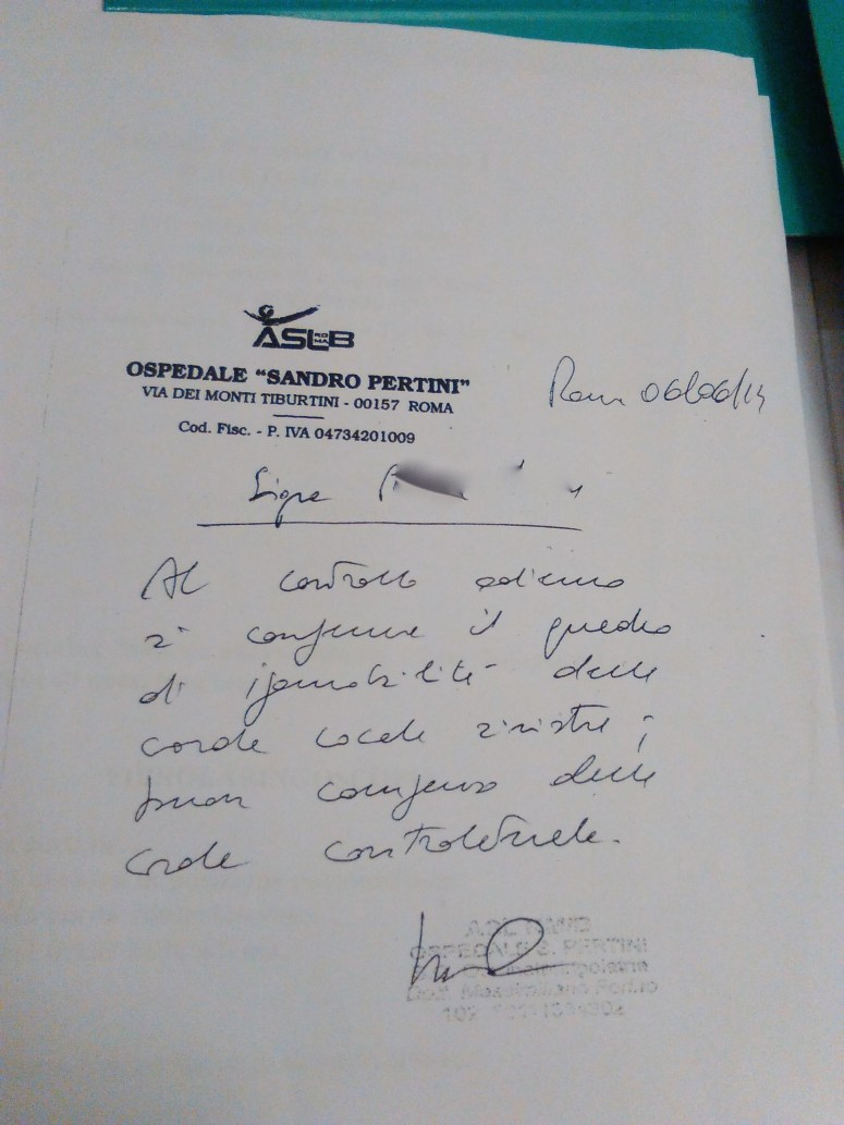 Sister I. certificato-ipomobilita-privacy
