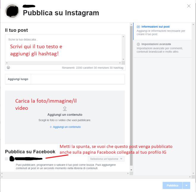 Come usare Creator Studio Facebook e Instagram