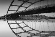 Bridge upsidedown and backwards