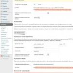 WordPress: Ajustes de Escritura