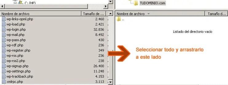 Cómo instalar WordPress paso a paso: Sube la última versión de WordPress a tu servidor FTP