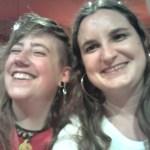 Riendo con Laura, una de las presentadoras del congreso