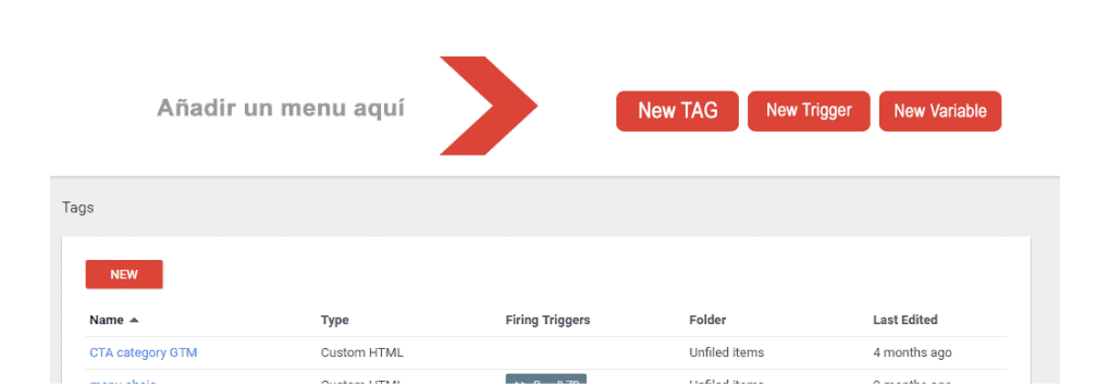 Usabilidad Google Tag Manager 2