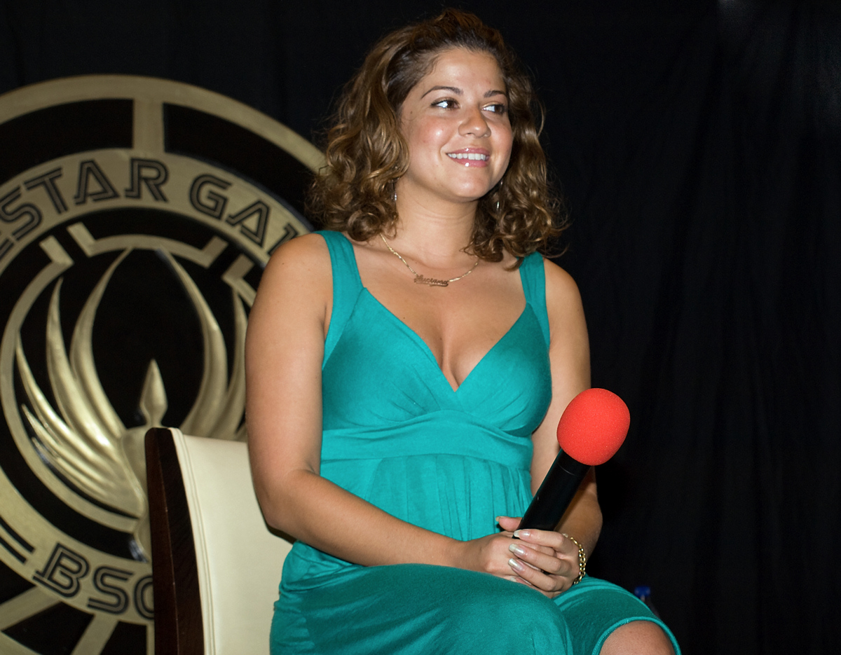 Luciana Carro at Galactica Four - Saturday Q&A (photo by 4ts)