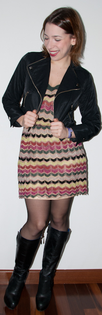 Blog de moda - Look do dia: como usar vestido com casaco e bota. Blog de moda