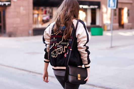 look com jaqueta varsity - como usar jaqueta varsity - blog de moda