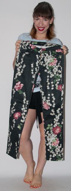 look do dia - como usar calça estampada blusa peplum - blog de moda