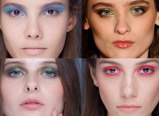 tendências maquiagem inverno 2013 - sombra colorida