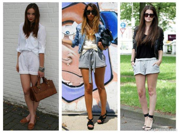 como usar Moletom short - dicas de moda