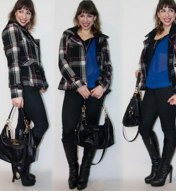 look do dia - como usar calça preta com bota - blog de moda1