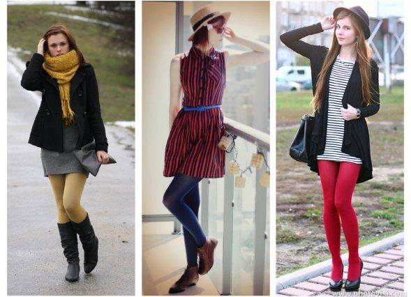 como usar meia-calça colorida - blog de moda