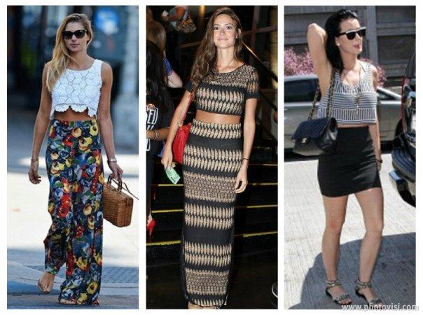 tendências de roupas para a Primavera / Verão 2014 cropped - dicas de moda