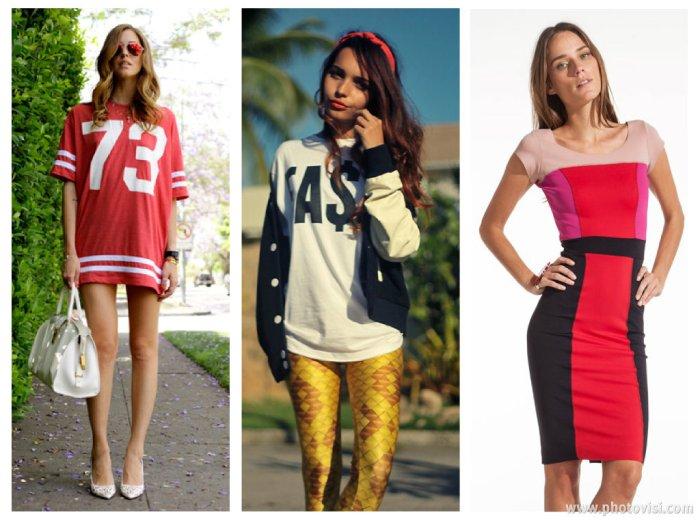 tendências de roupas para a Primavera / Verão 2014 esportivo - dicas de moda