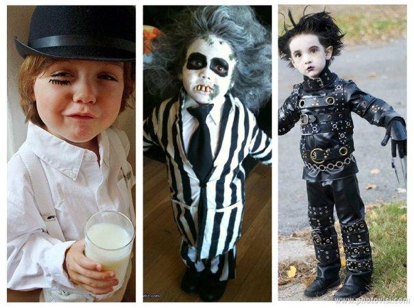 Fantasias de crianças para o Halloween - Personagens masculinos de filmes