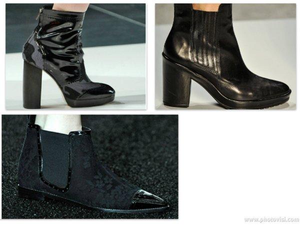 Tendências de calçados para o inverno 2014 - botas