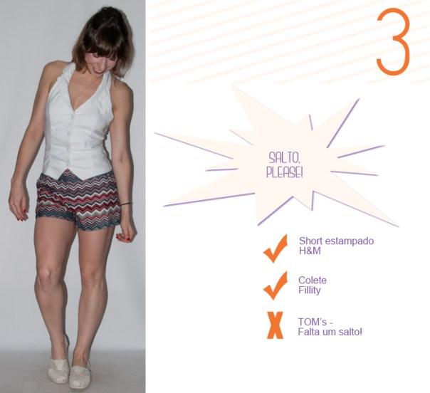 Look do dia - como usar short e colete - luta do dia - blog de moda- 4