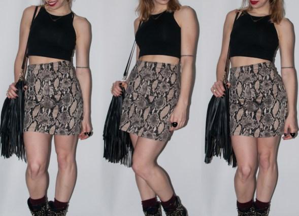 Luta do Dia - look de balada - blog de moda