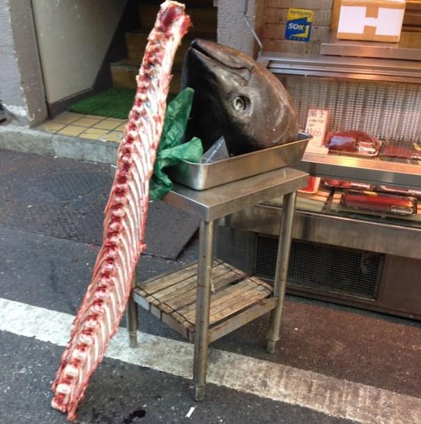 Dicas de Tóquio - Viajem para o Japão - Mercado de peixes Tsukiji