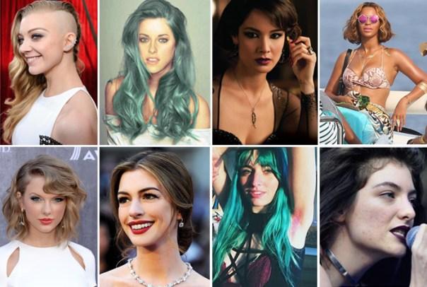 8 maiores tendências de beleza de 2014