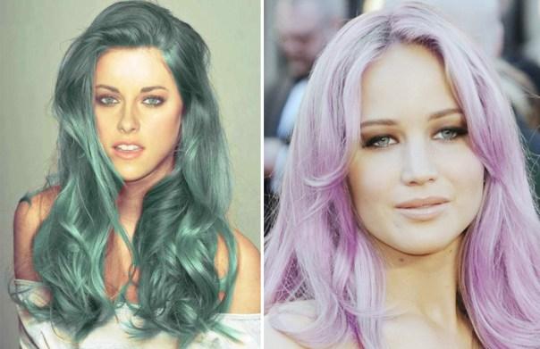 cabelos pastel celebridades lancam tendiencias