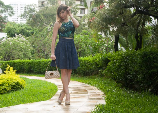 Luta do Dia - look retro