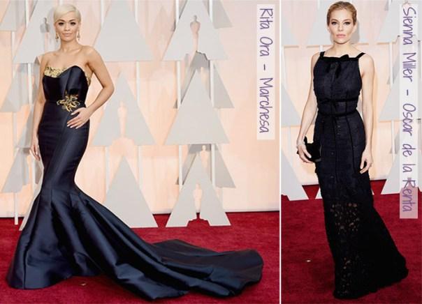 Oscar 2015 - looks do tapete vermelho - escuros