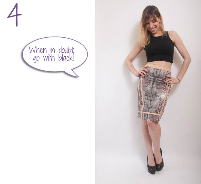 how to wear high waisted pencil skirt 4