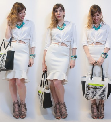 como usar look all-white final