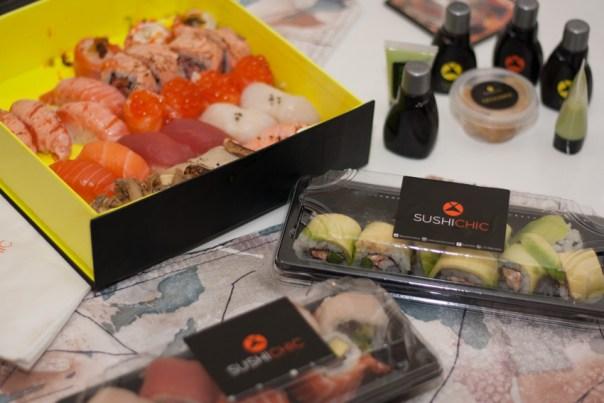 melhor delivery de sushi