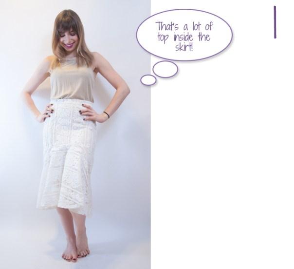 midi skirt look 1
