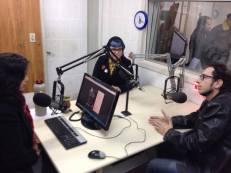 Andre e eu estivemos no Fazendo Arte UFSM, da Rádio Universidade, para divulgar a Odisseia de Literatura Fantástica: Edição Itinerante - Santa Maria. Obrigada pela oportunidade, galera.