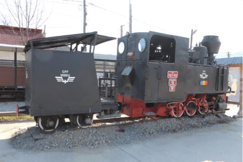 Cinci vagoane încărcate cu 100 de tone de cărbune s-au răsturnat în Valea Jiului