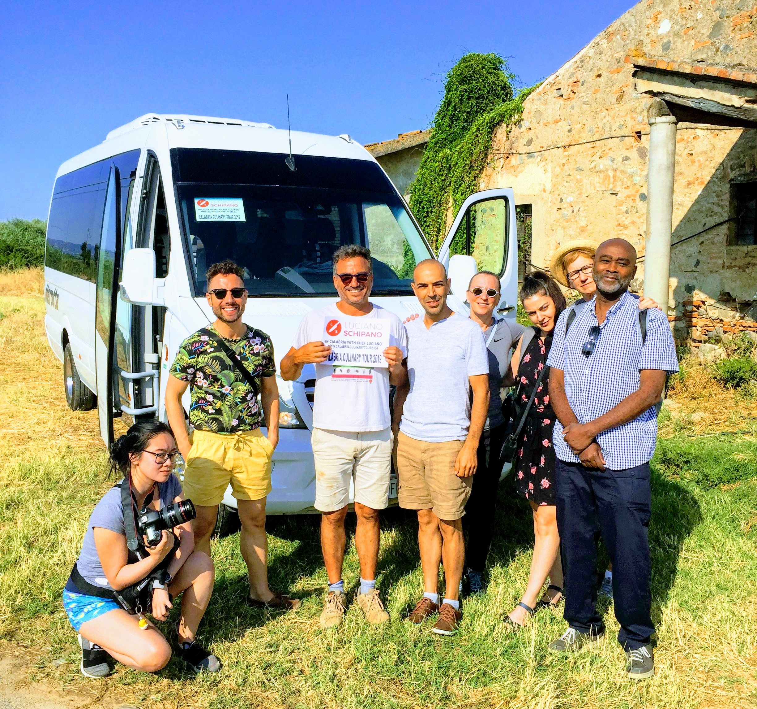 Calabria culinary tour group excursion