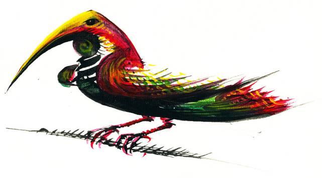 Lucian-Strochi-Ararul-ilustratie-de-George-Romila