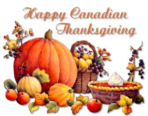 Happy Canadian Thanksgiving, Photo by otel.blog.com