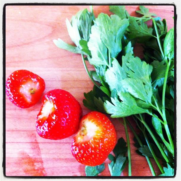 Strawberries &