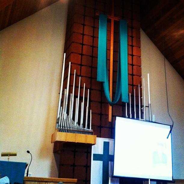 Beautiful traditional church interior in Surrey, BC
