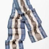Schal - Fächergewebe, Seide/Papier/Alpaka, 0,20 x 2 m