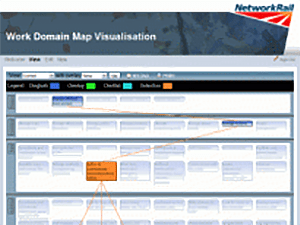 Screenshot - Interactive Ergonomics Tool for Network Rail