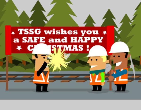 TSSG Christmas animation