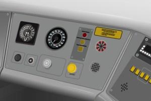 Model - Train cab