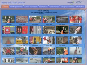 Screenshot - Personal Track Safety asset library