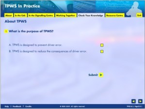 Screenshot - TPWS