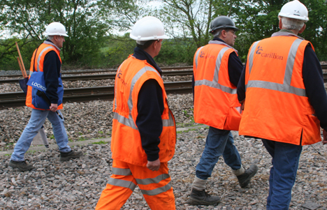 Trackworkers in PTS